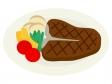 Tボーンステーキのイラスト02