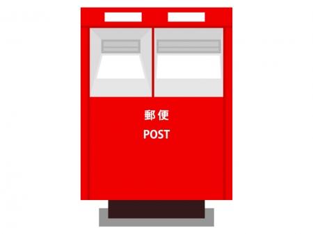 郵便ポストのイラスト02