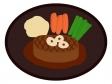フィレ(ヒレ)ステーキのイラスト02
