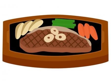 サーロインステーキのイラスト