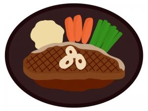 サーロインステーキのイラスト02