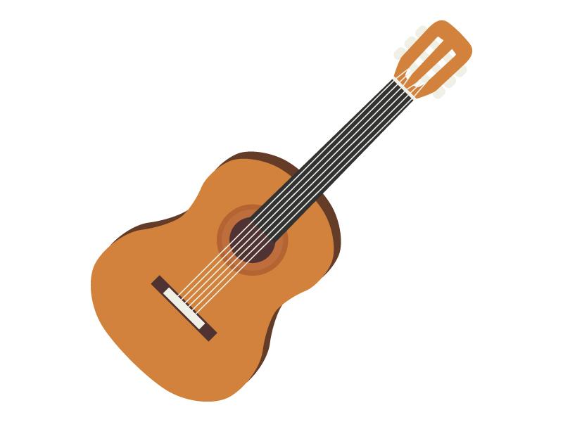 アコースティックギターのイラスト02