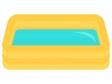 ビニールプールのイラスト02