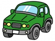 4WD・SUV車のイラスト