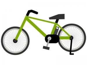 電動アシスト自転車のイラスト02