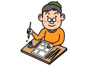 漫画家のイラスト02