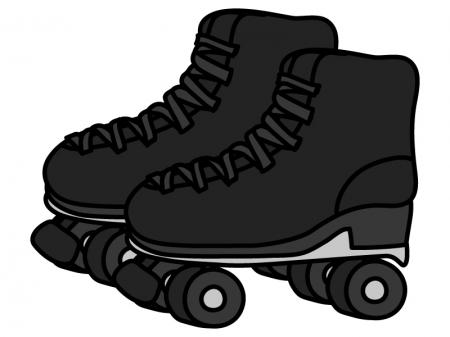 ローラースケートのイラスト02