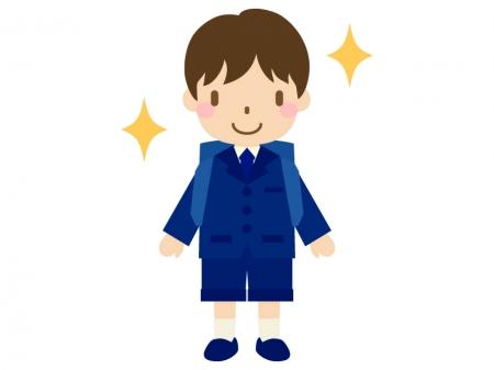 小学生・入学のイラスト