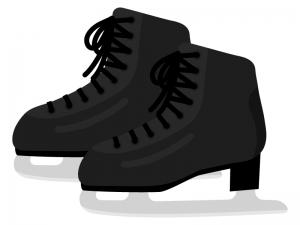 スケート靴のイラスト