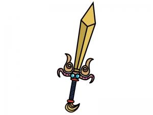 ソード・剣のイラスト02