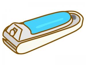 爪切りのイラスト02