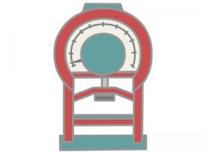 握力測定器(アナログ)のイラスト