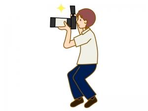 カメラマンのイラスト02