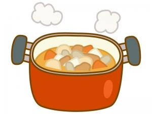 とん汁(お鍋)のイラスト