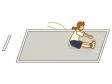 走り幅跳びのイラスト02