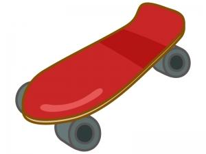 スケートボードのイラスト