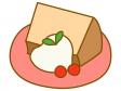シフォンケーキのイラスト02