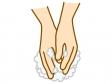 石鹸で手洗いのイラスト02