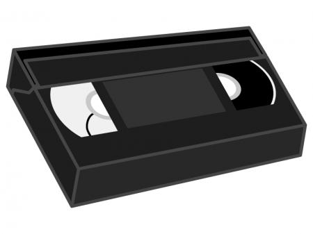 ビデオテープのイラスト02