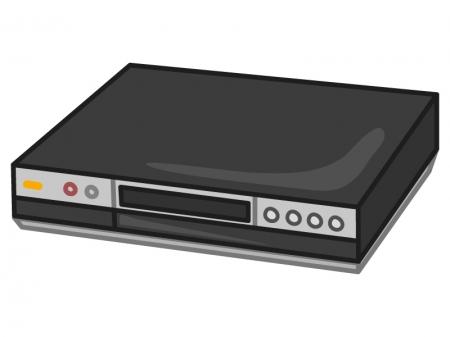 ブルーレイ・DVDレコーダーのイラスト