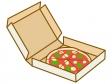 宅配ピザのイラスト