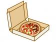 宅配ピザのイラスト02