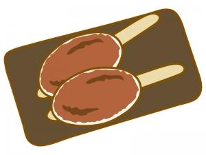 五平餅のイラスト02