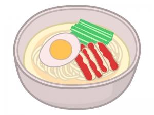 冷麺のイラスト