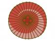 赤い和傘のイラスト