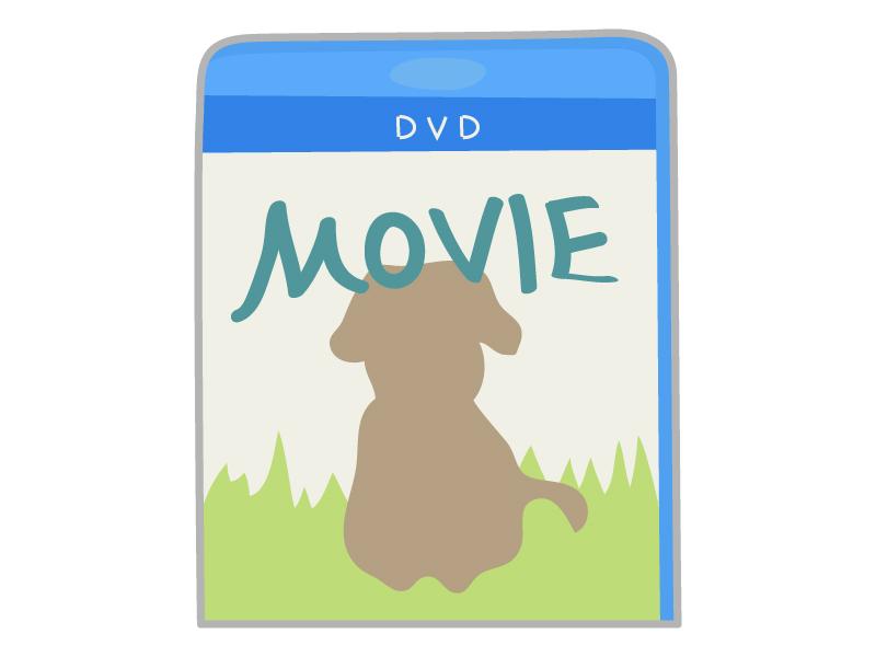 DVDのパッケージのイラスト