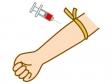 採血・血液検査のイラスト