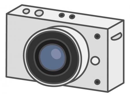 ミラーレスカメラのイラスト02