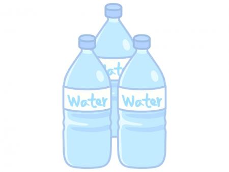 ペットボトルの水のイラスト02 | イラスト無料・かわいい ...