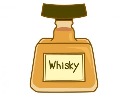 ウイスキーのイラスト02