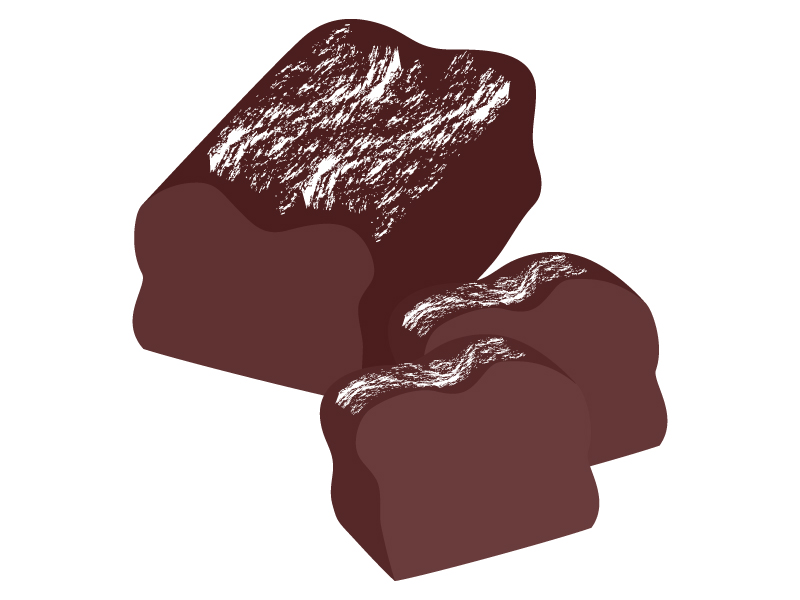ガトーショコラのイラスト02