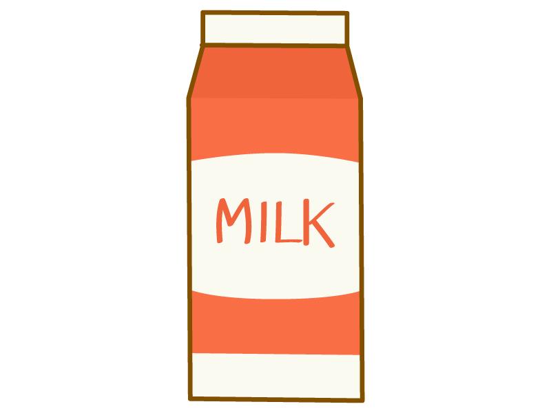 牛乳パックのイラスト02