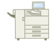 OA機器・複合機のイラスト