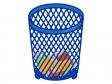 空き缶が入ったゴミ箱のイラスト