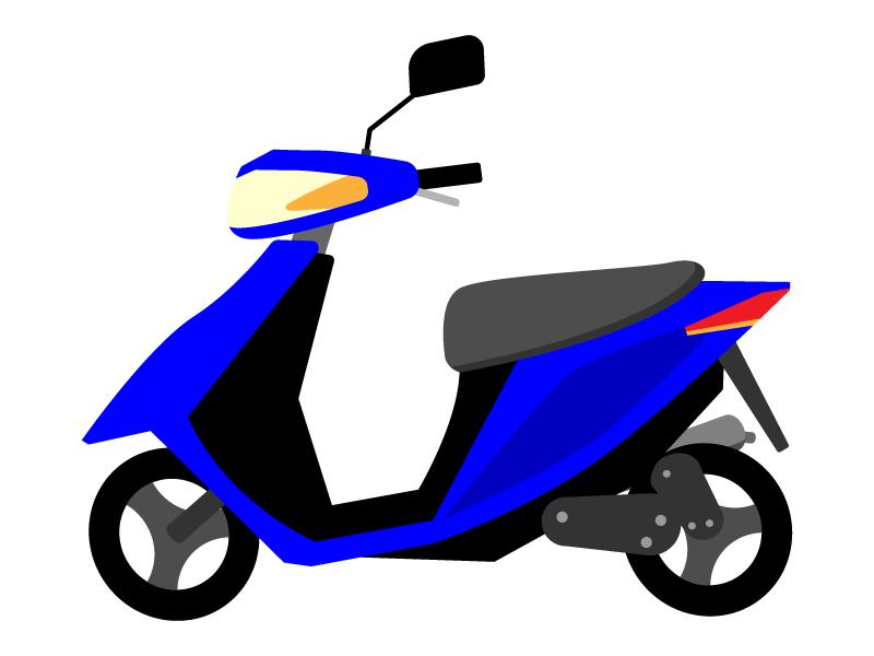 スクーター・原付バイクのイラスト