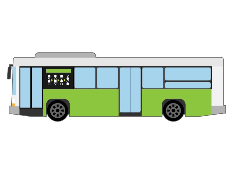路線バスのイラスト03