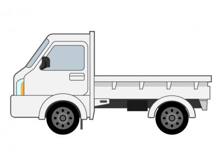 軽トラックのイラスト02