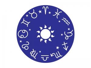 12星座占い(星占い)の星座円のイラスト