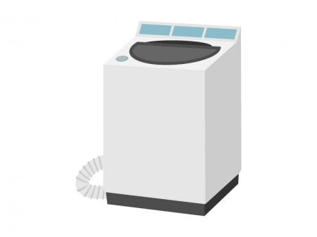 家電・洗濯機のイラスト