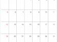 シンプルな2020年(令和2年)4月のカレンダー