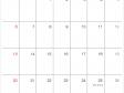 シンプルな2020年(令和2年)12月のカレンダー