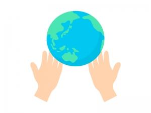 地球環境をイメージしたイラスト
