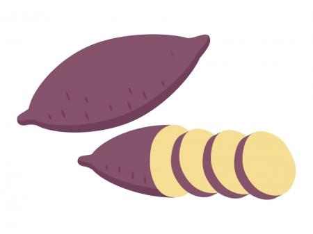 サツマイモのイラスト