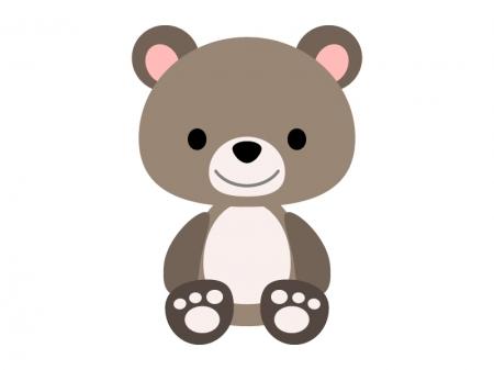 かわいいクマのイラスト04