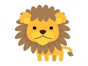 かわいいライオンのイラスト04