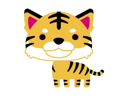かわいい虎のイラスト03